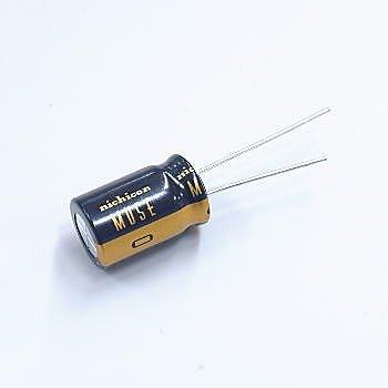 ニチコン アルミニウム電解コンデンサー(オーディオ用ハイグレード品) 50V 1000μF UKZ1H102MHM