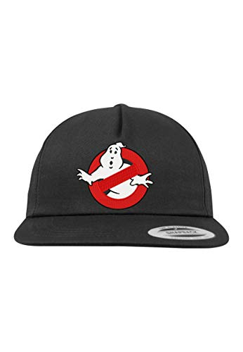 Youth Designz 5-Panel Snapback Cap Modell Ghostbusters, Schwarz, B610
