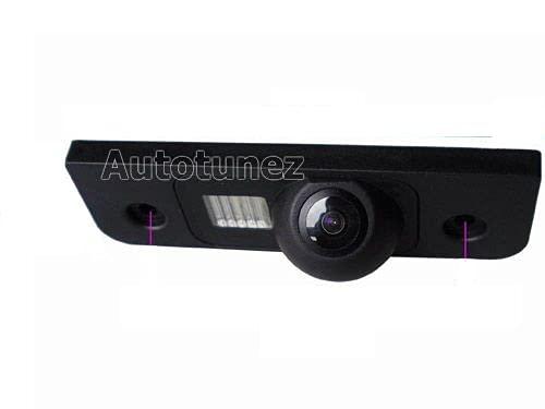 TUNEZ® Kit caméra de recul avec vue arrière et recul arrière compatible avec Focus 1998-2004