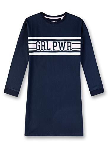 Sanetta Mädchen Nachthemd, Blau (Navy 5172), (Herstellergröße: 140)