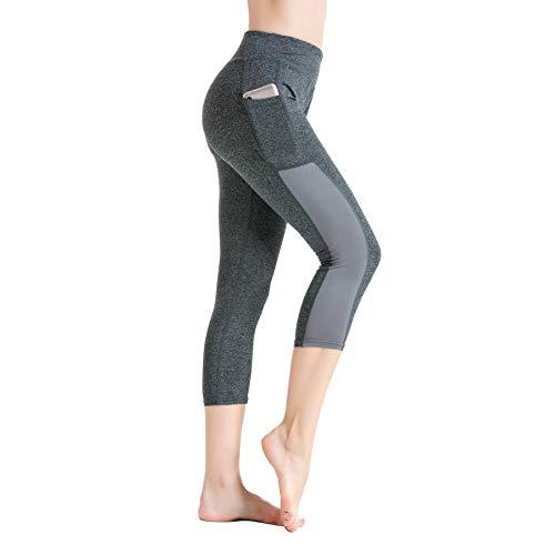Pocket Yoga Kurz geschnittene Hose Fitness Running Stretch Tights Schnelltrocknende Trainingshose Legging New Style.YINI