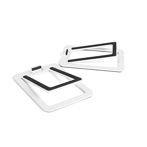 Kanto S2 Lautsprecher-Halterung Tisch Weiß - Lautsprecher-Halterungen (Tisch, 2,7 kg, Weiß, 0-16°, China, 34 mm)