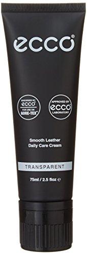 ECCO unisex adult Smooth Leather Care Cream Shoe Polish, Transparent, One Size Regular US