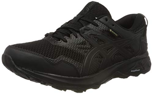 ASICS Mens Gel-Sonoma 5 G-TX Trail Running Shoe, Black, 42.5 EU