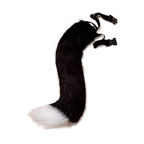 Symina fuchsschwanz cosplay Plüsch Kunstpelz Tail für Halloween Party Kostüm Adult Teen Cosplay verkleiden künstliche Tier Tails Pelzimitat