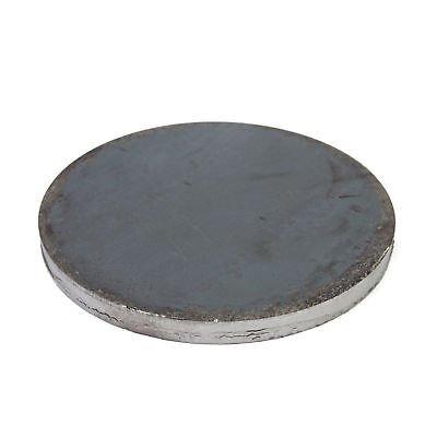 Stahl Ronde Qualitätsstahl S235 (ST 37). Rund. Oberfläche blank. Ankerplatte, Flansch, Platte. Durchmesser 100 x 4 mm, 10 Stück!