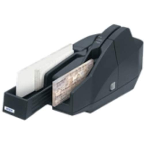 Best Buy! Epson A41A266111 CaptureOne TM-S1000 Check Scanner, 30DPM, 2 Pocket, Power Supply, USB Cable, Franking Cartridge, CD, Dark Gray (Renewed)