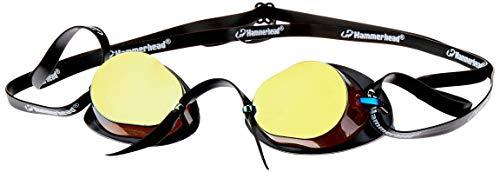 Hammerhead Swedish Pro Mirror , Óculos de Natação, Unissex Adulto, Espelhado Marrom/Preto, Único