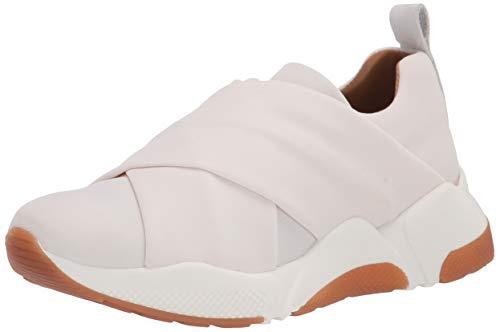 Aquatalia womens Classic Low Top Sneaker, White, 6.5 US