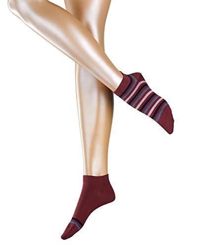 Esprit Multi Stripe Sneakers voor dames, 2 paar, verschillende Kleuren, maat 35-42 – dubbelpak met twee verschillende patroonvarianten.