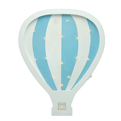 Pauleen 48049 Lovely Balloon lamp Wandlampe Heißluftballon für Kinder LED Kinderzimmerlampe kabellos, mit Kippschalter