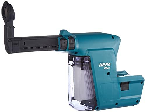 Makita DX02 DX02-Extractor de Polvo para Martillo combinada con batería DHR243, 195902-4, 0 W, 0 V