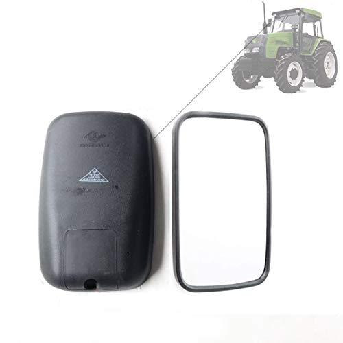 2 Espejos Retrovisores Universales Para Vehículos Agrícolas, Juego De Espejos Retrovisores De Caravana De 265 X 165 Mm Para Tractor,Excavadora,Autocaravana, Agrícola,Black