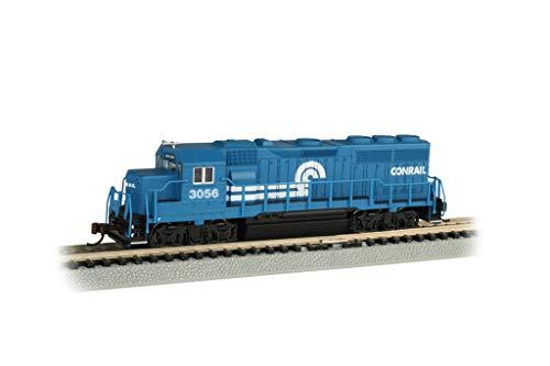 Bachmann Trains - EMD GP40 Diesel Locomotive - Conrail #3056 (with Dynamic Brakes) - N Scale