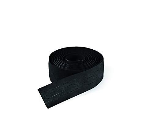 Selle Italia Unisex– Erwachsene Lenkerband Smootape Classica Leder Gel 2.5 mm Accessoires, Black Leather, unisize