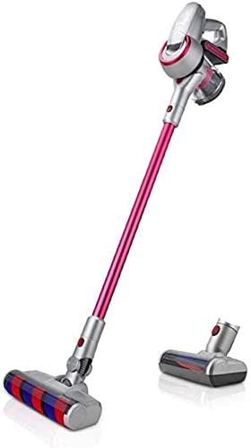 JTN Inalámbrico de mano Partes de aspirador hogar montaje en pared motor digital carga barra de vacío para alfombra/piso duro/pelo de mascotas/limpieza