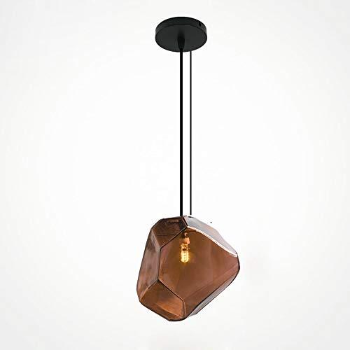 Chandelier Agriturismo Lampada da soffitto a sospensione a soffitto for goccia d'acqua - Crystal Hanging Light Lampadario Sala da pranzo Cucina Camera da letto Isola di Lusso Bar, Fuochi d'artificio E