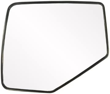 Fit System 30209 Ford//Mercury Right Side Heated Power Replacement Mirror Glass with Backing Plate