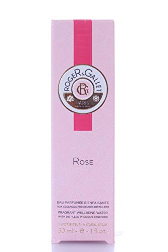 Roger & ~ Gallet Rose Fresh Fragant Agua para Mujer/Hombre, 30 ml