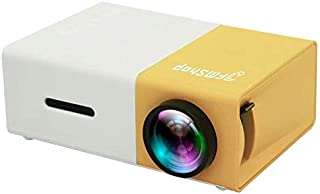 Mini Projector, JFMShop YG300 Portable Pico Full Color LED LCD Video Projector for Children Present, Video TV Movie, Party...