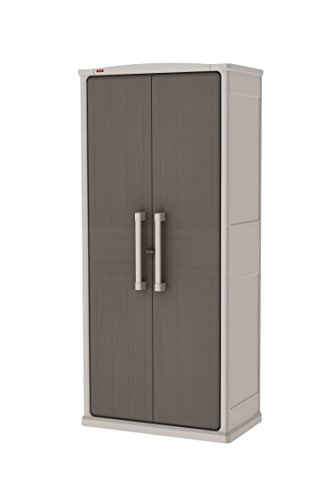 Keter Optima Wonder Outdoor 17200531- Armario para exteriores, de 47,3 x 80,5 x 177,8 cm