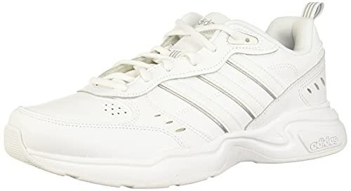 adidas Heren EG6214_46 Sneakers, wit FTWR wit FTWR mat zilver, EU