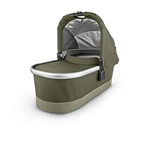 Bassinet – Hazel (Olive/Silver/Saddle Leather)