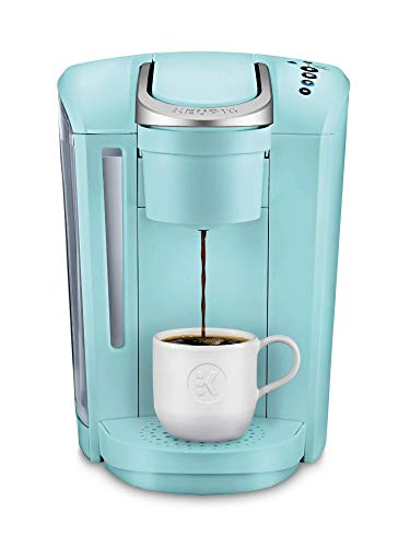 Keurig K-Select Coffee Maker, Single Serve K-Cup Pod Coffee Brewer, With Strength Control and Hot Water On Demand, Oasis (Renewed)