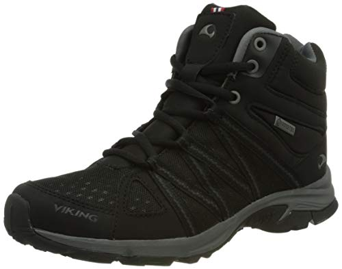 viking Damen Day Mid GTX W Walking-Schuh, Black,36 EU