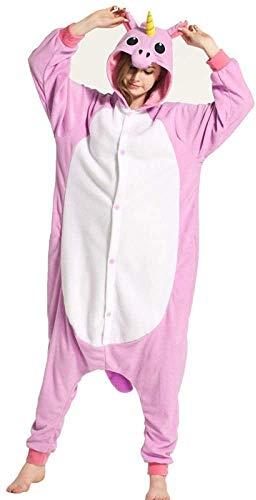Disfraces de Dibujos Animados Pareja Hombres Mujeres Adultos Partido del Festival Onesie Rendimiento de los Animales Fox Pijama Polar Pijamas XL (Color: Pato Donald, Tamaño: S)