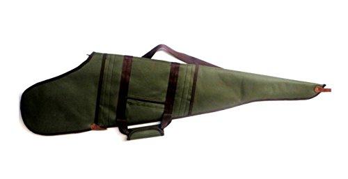 CAZA Y AVENTURA Bolsa. Funda para Rifle montado con Visor en Cordura 120 cm