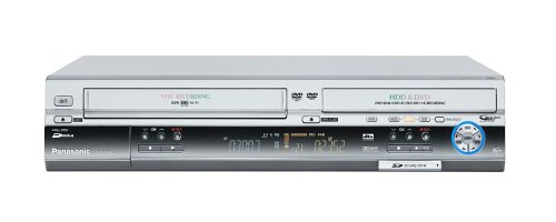 Panasonic DMR-EH 80 Veg-S VHS-Rekorder/DVD- und Festplatten-Rekorder 200 GB Silber