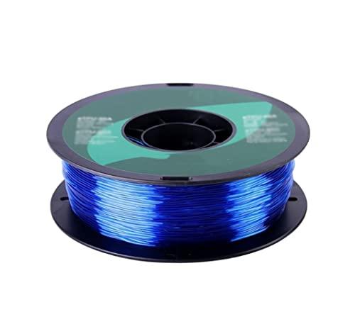 OPYTR Filamento per stampanti 3D Flessibile TPU.Filamento 1.75mm,TPU 95A 3D Filamento della Stampante 1kg 2,2 libbre.Spool Materiale di Stampa 3D for stampanti 3D e Penna 3D Seta Lucida