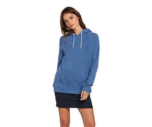 Volcom Women's Lil Pullover Fleece Hoody Sweatshirt