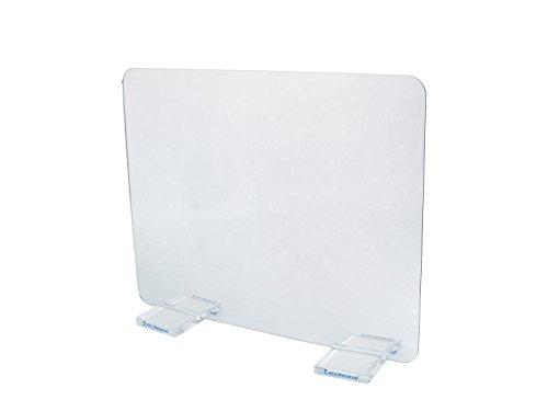 Therapiespiegel Premium | Mittel | 49,5 cm x 38,5 cm | Spiegeltherapie | Spiegeltherapie | Spiegel (Standfüße: transparent | ohne Bildkarten)