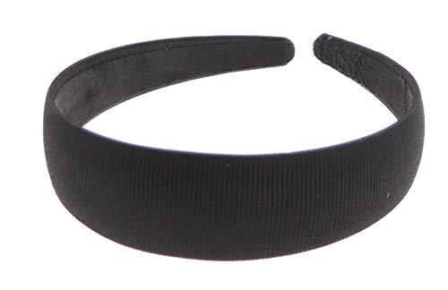 Noir 1 Cm Large Ruban Alice Tête Cheveux bande Avec Couleur Des Noeuds en ruban