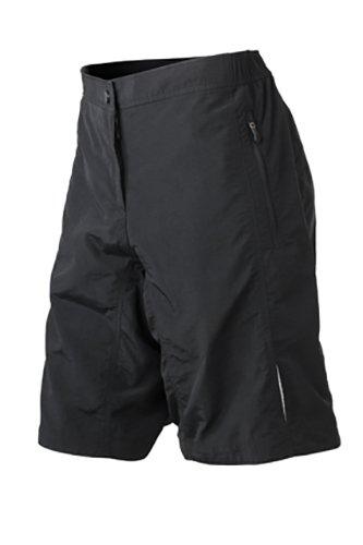 2Store24 Ladies' Bike Shorts in Black Taille: XXL