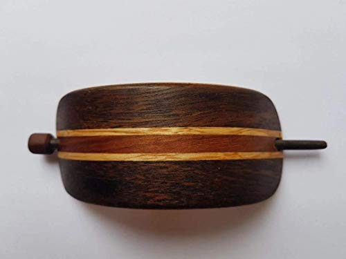 Haarspange aus Holz, handgefertigt