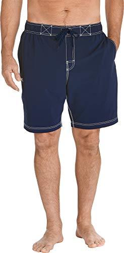 Coolibar Short de Bain Anti-UV pour Homme Bleu foncé Taille XXL