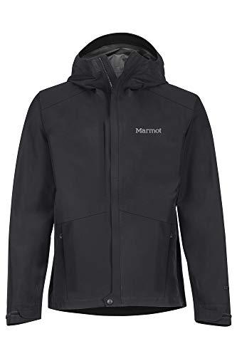 Marmot Herren Hardshell Regenjacke, Wasserdicht, Winddicht & Atmungsaktiv Minimalist Jacket, Black, M, 31230