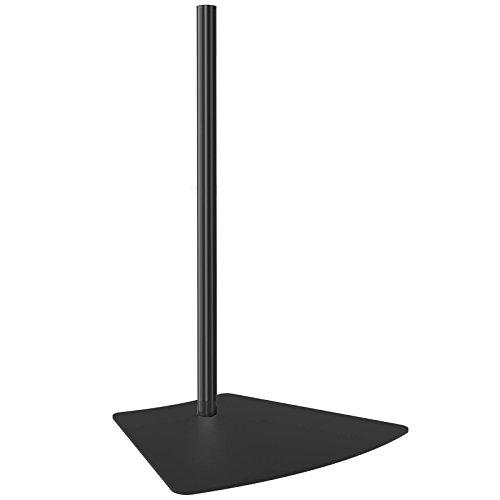HFTEK® Zubehör für Monitor-Halterung Standfuß-Platte mit 70cm langem Rohr (HF700MB)