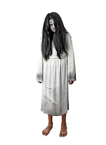 Costumizate! Disfraz de Niña Maldita para niños Talla 5 o 6 años Halloween