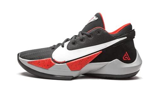 Nike Chaussures pour homme Zoom Freak 2 White Cement CK5424-100, Noir/rouge/blanc., 42 EU