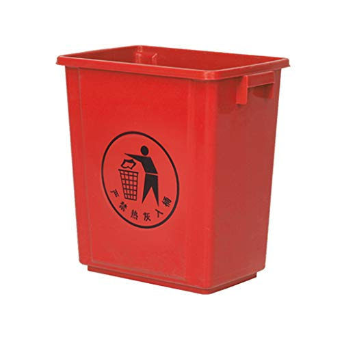 Learn More About WQEYMX Outdoor Trash can Recycling bin Ultra-Thin Kitchen Trash can Wheeled Trash c...