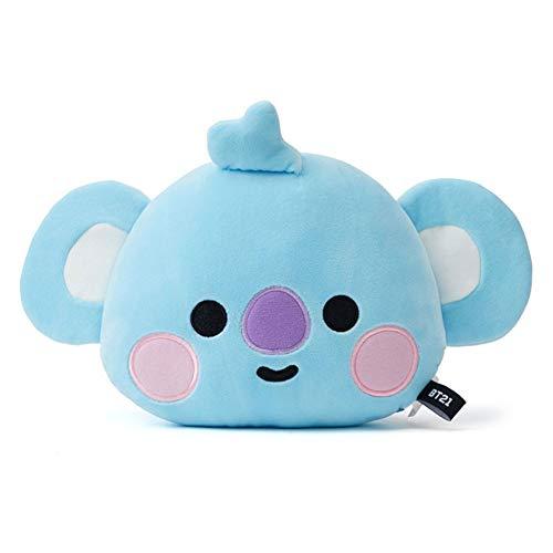GLITZFAS BTS Puppe Kissen, Baby-Serie, Cute Cartoon Plüsch Pillow Chimmy Cooky Tata MANG Koya RJ Geschenk für A.R.M.Y (KOYA - RM)
