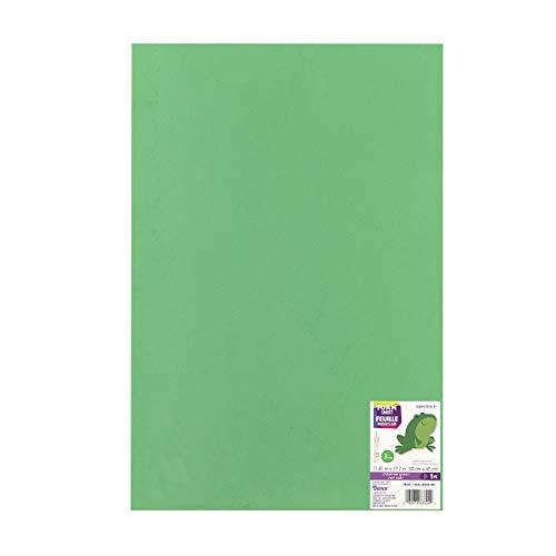 Darice Plaque de Mousse en 30,5 x 45,7 cm 3 Mm-Christmas Vert Lot de 10