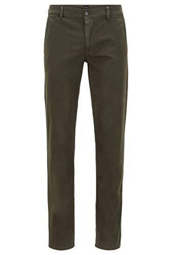 BOSS Schino-Slim D Trouser, Green (Open Green 346), W 32/L 32 Men's