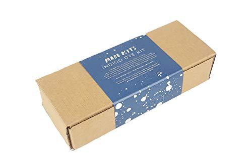 Indigo Kit, Made Kits by One-OneThousand I Shibori, Indigo dye kit I DIY Fabric dye kit, Adult Crafts, Basic Kit