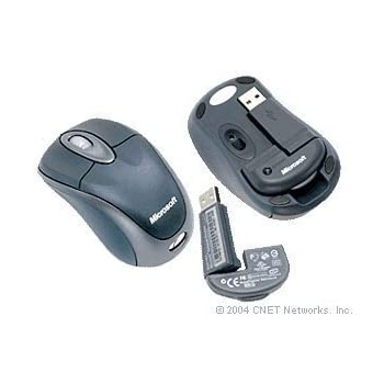 Microsoft Wireless Mobile Mouse 3000 Black