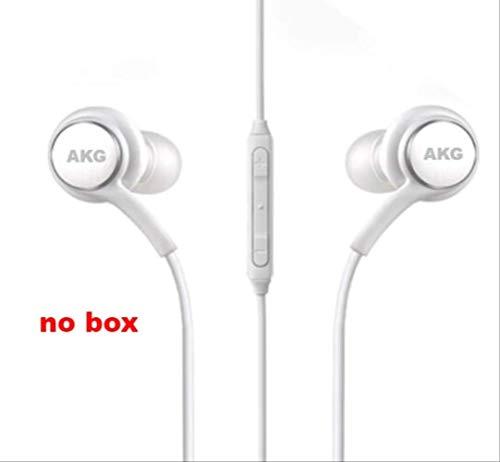 Auriculares AKG IG955, 3,5 mm, tipo C, con micrófono y mando a distancia, para Samsung Note10 / Note10 + S8 S9 S10 / Xiaomi/Huawei/Apple 3.5mm bianco